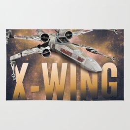 Star Wars X-Wing Rug