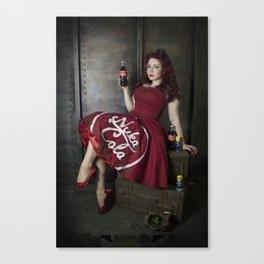 Nuka Pin-up Girl 1 Canvas Print