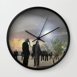 Enjoy it while you can.... Wall Clock