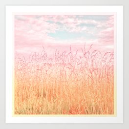 Pink Dawn Art Print
