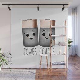 Power Couple | Batteries Wall Mural