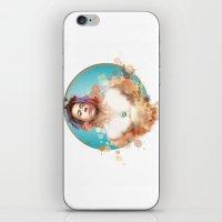 robert downey jr iPhone & iPod Skins featuring Robert Downey Jr. by Rene Alberto