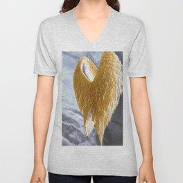 Angel Wings Unisex V-Neck