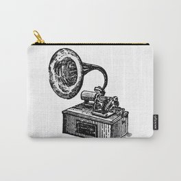Gramophone Carry-All Pouch