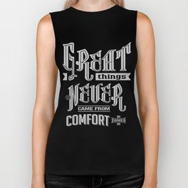 Comfort Zones - Motivation Biker Tank