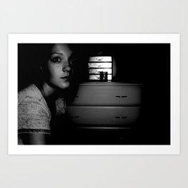 Angst.  Art Print