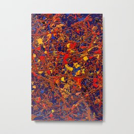 Abstract #725 Metal Print