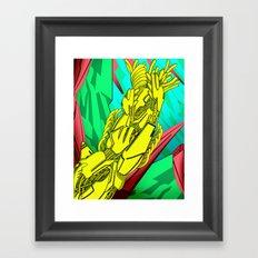 AUTOMATIC WORM 5 Framed Art Print
