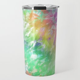 Shattered Rainbow Travel Mug