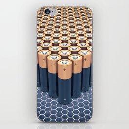 Batteries iPhone Skin