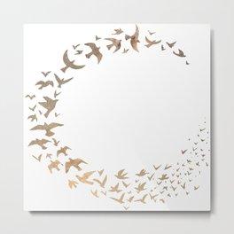 Starbirds Metal Print