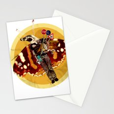 Pinguin Man wants to fly... Stationery Cards