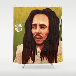 Caricature Shower Curtain