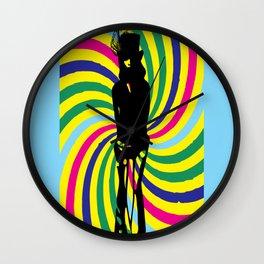 Gypsy girl Wall Clock