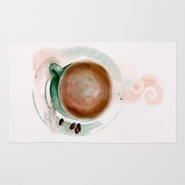 Cup of Coffee Rug