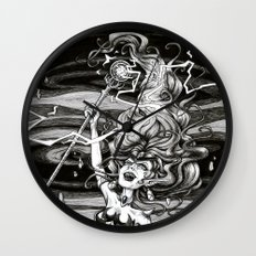 Our Queen of Destruction Wall Clock