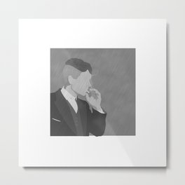 Tommy Shelby  Metal Print
