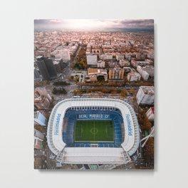 Santiago Bernabéu Stadium - Madrid, Spain Metal Print