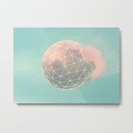 Nuvens 2 Metal Print
