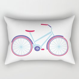 Everything is better on a bike Rectangular Pillow