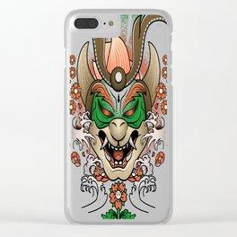 Mushroom-Dynasty-Ronin Clear iPhone Case
