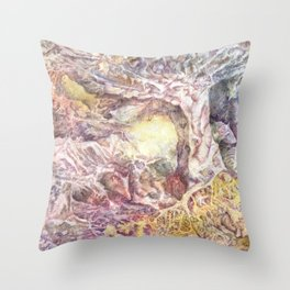 Enchanted Land Throw Pillow