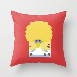 English Budgerigar Throw Pillow