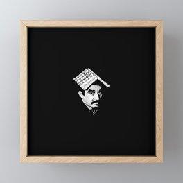 Book Framed Mini Art Print