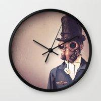 steampunk Wall Clocks featuring Steampunk by FalcaoLucas