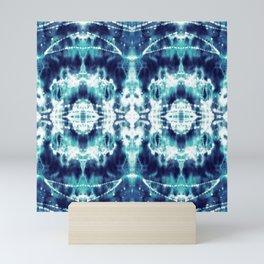 Celestial Nouveau Tie-Dye Mini Art Print