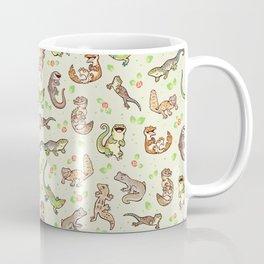 Spring geckos Kaffeebecher
