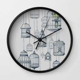 Last Bird in the Shop Wall Clock