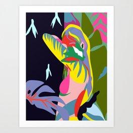 the wanderer Art Print