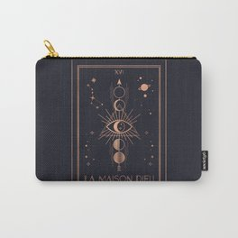 La Maison Dieu or The Tower Tarot Carry-All Pouch