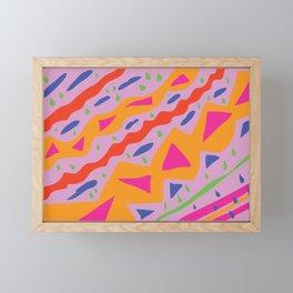 Funky Framed Mini Art Print