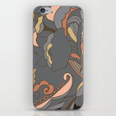 Color Blocking | Floral Shapes iPhone & iPod Skin