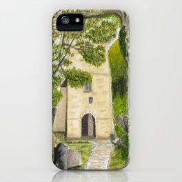 St Illtyd's Church, Oxwych Bay (Wales) iPhone Case