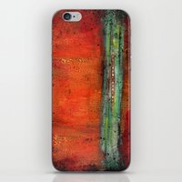copper iPhone & iPod Skins featuring Copper by Paper Rescue Designs