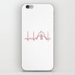 WRESTLER'S HEARTBEAT iPhone Skin