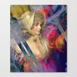 Buttermilk Lace Canvas Print