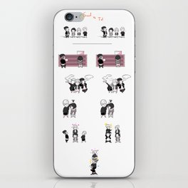 Life is Strange: Smols versus Tols 1 iPhone Skin