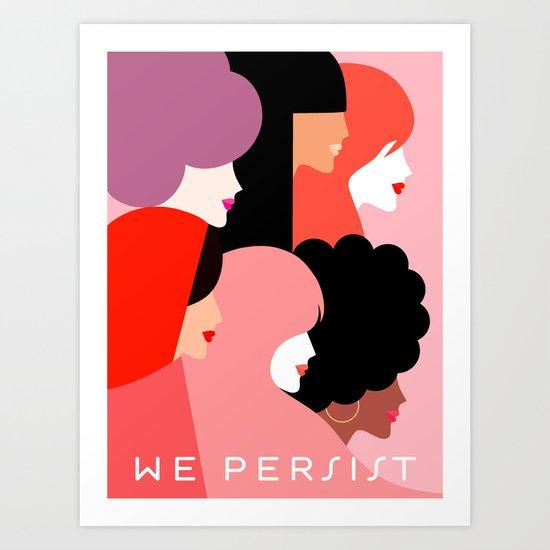Girl Power we persist  #girlpower by domvariwords