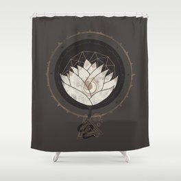 Lotus Shower Curtain