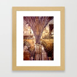 Dark Arches Framed Art Print