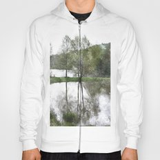 Trees by the lake Hoody