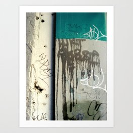 Once upon a wall Art Print
