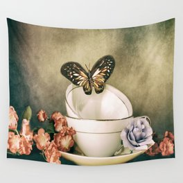 Afternoon Tea 2 Wall Tapestry