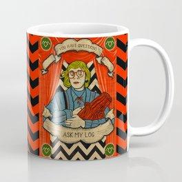 Ask my log Coffee Mug