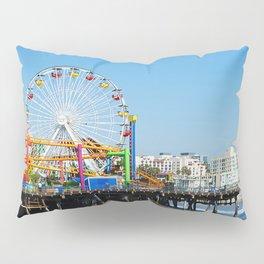 Santa Monica Pier Pillow Sham