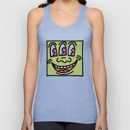 Baby Monster - Keith Haring Unisex Tank Top